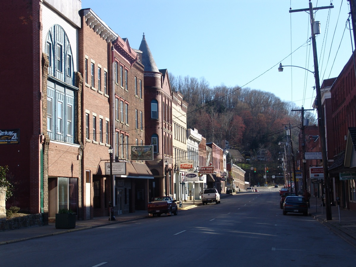 Weston (WV) United States  City new picture : Weston WV downtown Wikimedia Commons