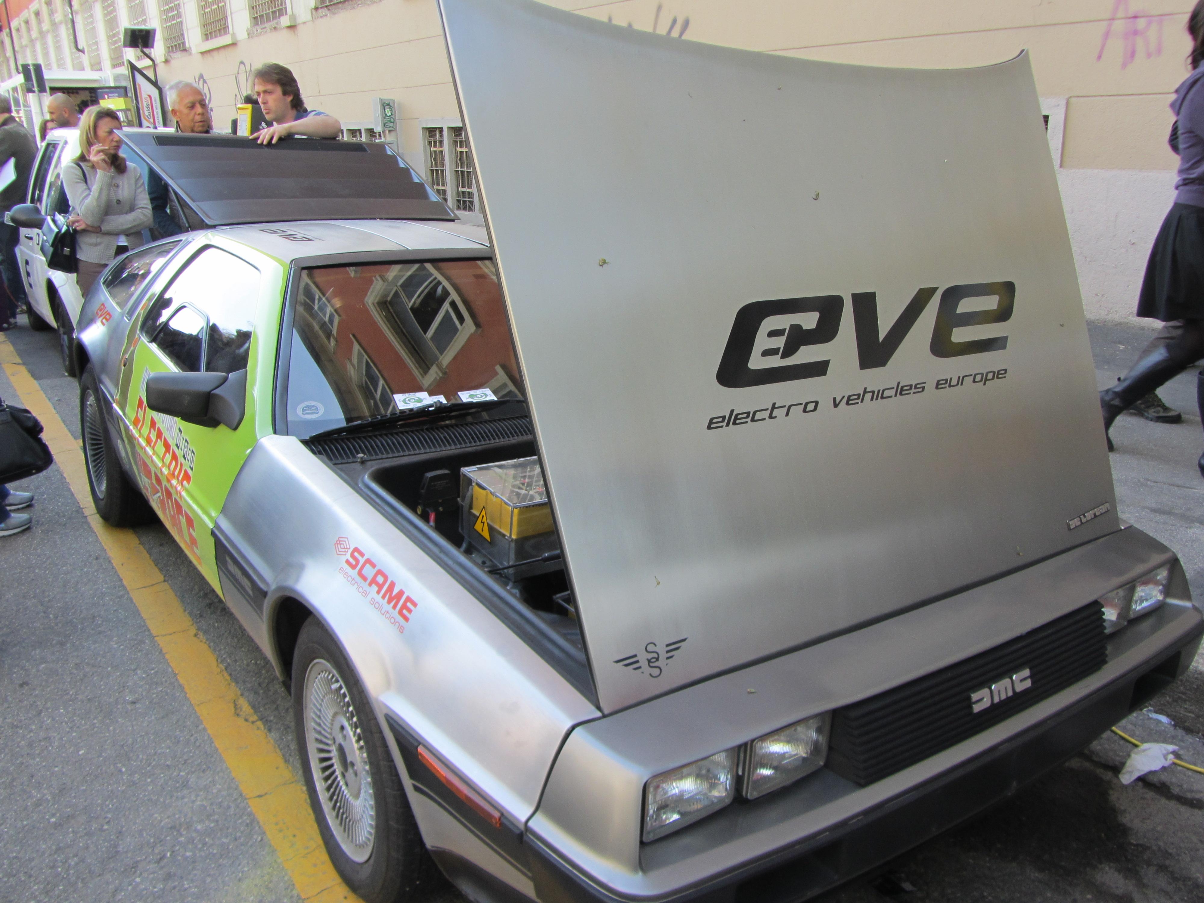Electric Delorean Car