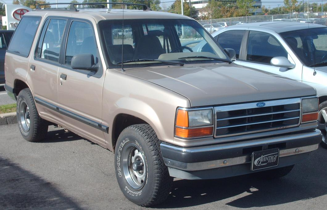Ford Escape 2002 Tuning >> File:'91-'94 Ford Explorer.jpg - Wikimedia Commons