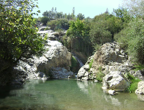 The Pactolus river, from which Lydia obtained electrum for its early coinage. Paktolos.jpg
