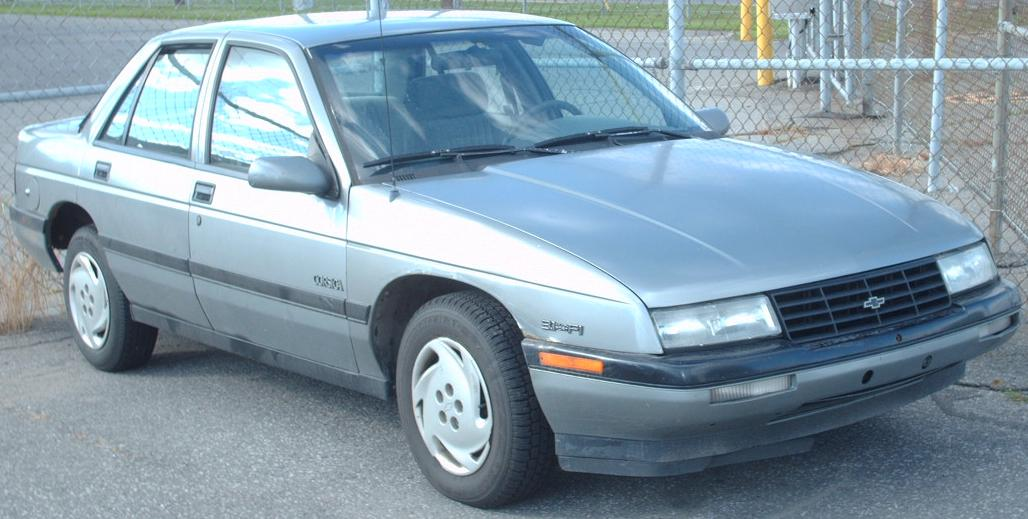 File 92 93 Chevrolet Corsica Jpg Wikimedia Commons