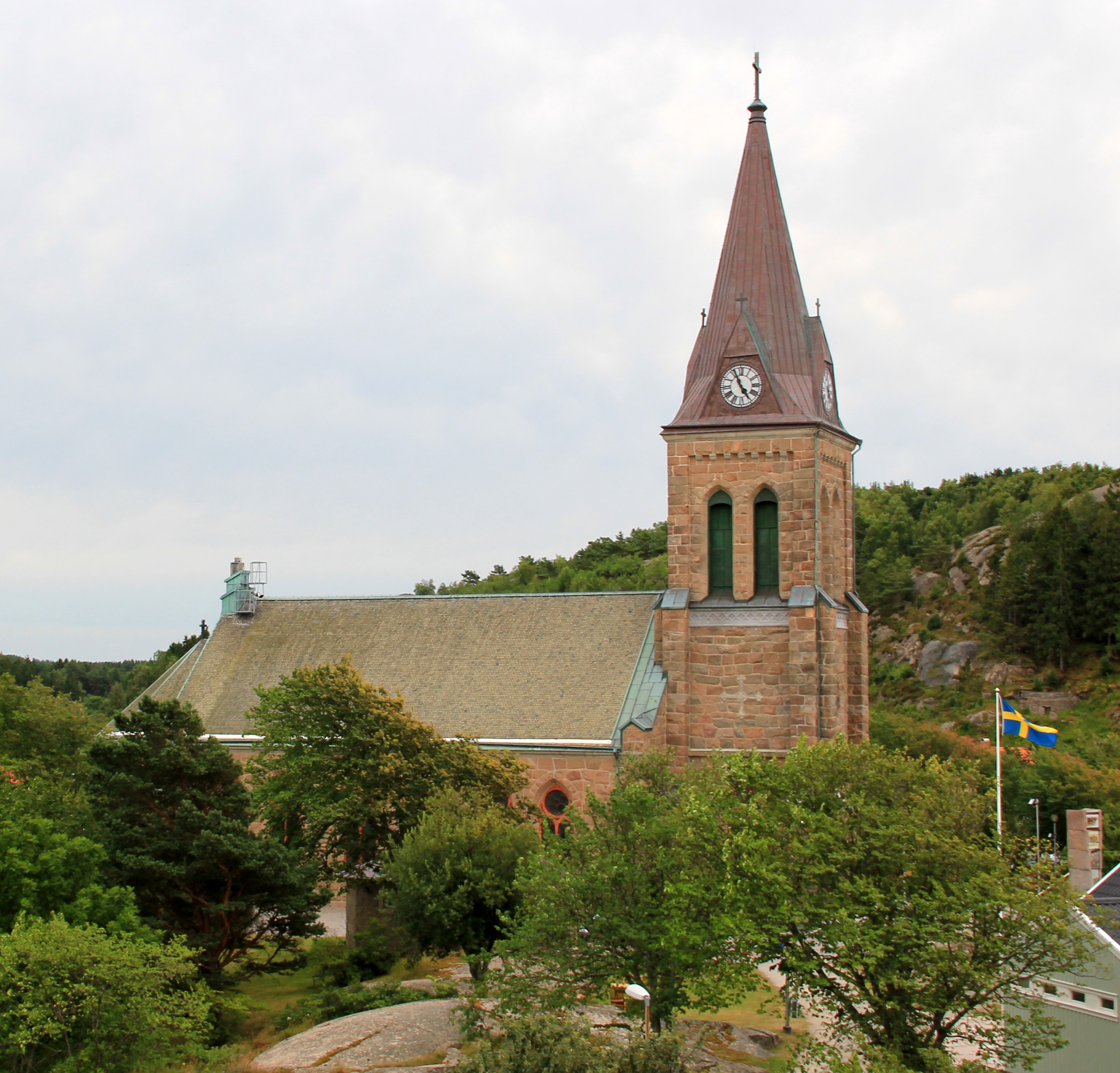 Fjällbacka in Sweden, the tiny seaside village where Läckberg was born