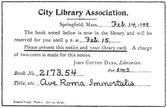 a library primer  1899   chapter xxxii