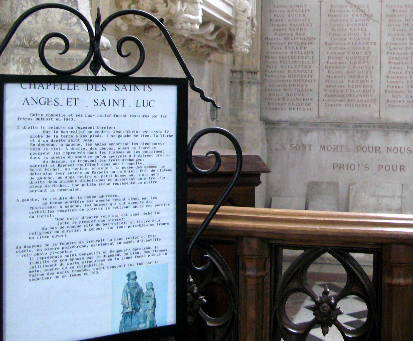 Architecture D Intérieur Saint Luc file:abbeville st-wulfran (intérieur) chapelle sts-anges et