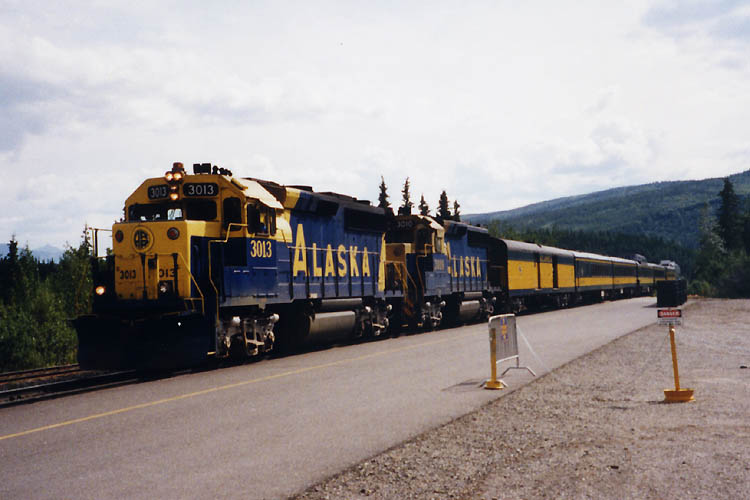 Alaska Railroad Denali station