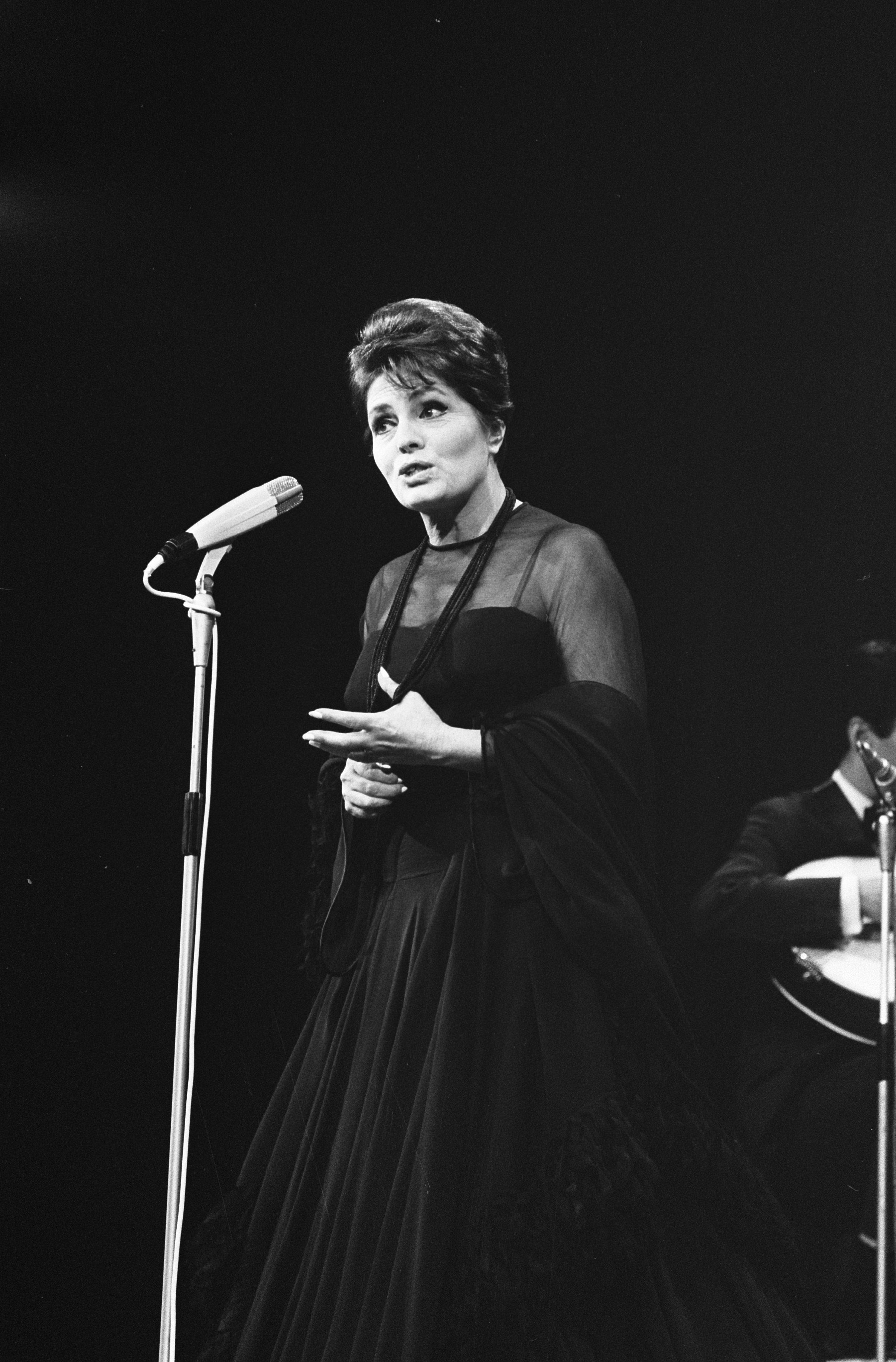 """Amália Rodrigues, la """"reina del fado"""" (1969)"""