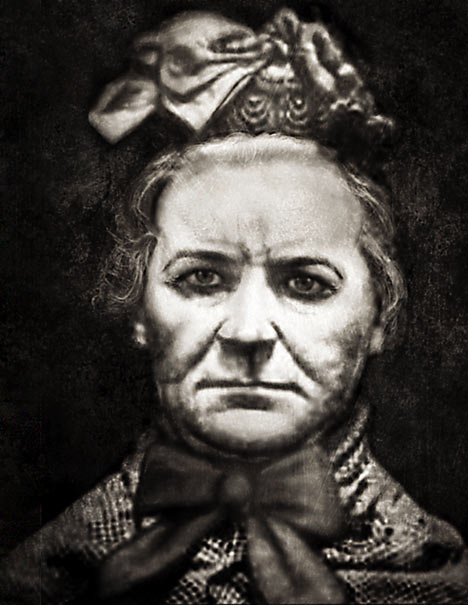 "Amelia Dyer, the most prolific ""baby farmer"" of Victorian England. Suspected of murdering upwards of 400 babies, but tried and hanged for one."