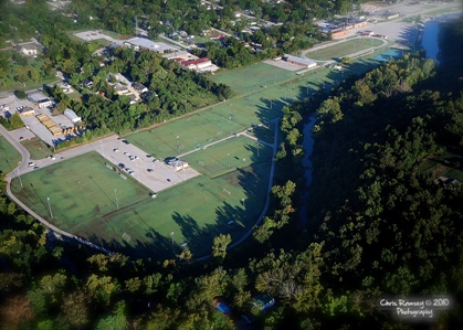 Anstaff Bank Soccer Complex features 8 fields to accommodate youth and High School Soccer. Harrison, Arkansas Anstaff Bank Soccer Complex Aerial View Harrison, Arkansas.jpg