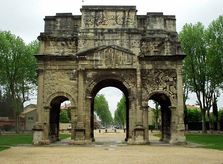 Triumphal Arch of Orange - Wikipedia  Triumphal Arch ...