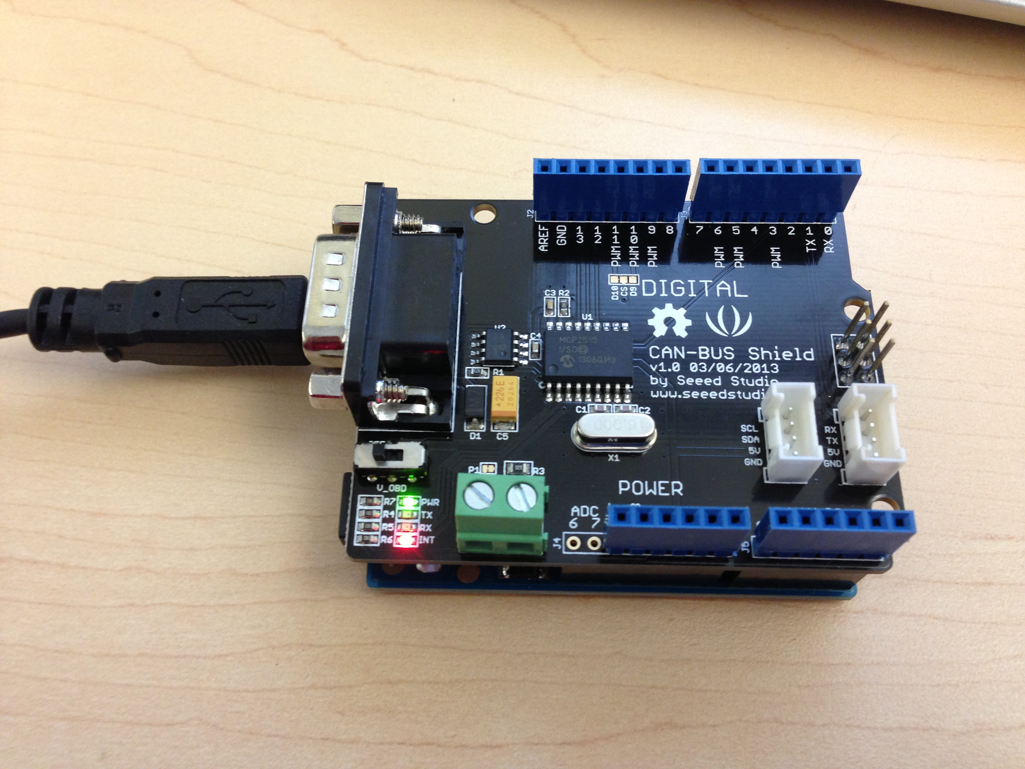 file arduino uno with can bus shield jpg. Black Bedroom Furniture Sets. Home Design Ideas