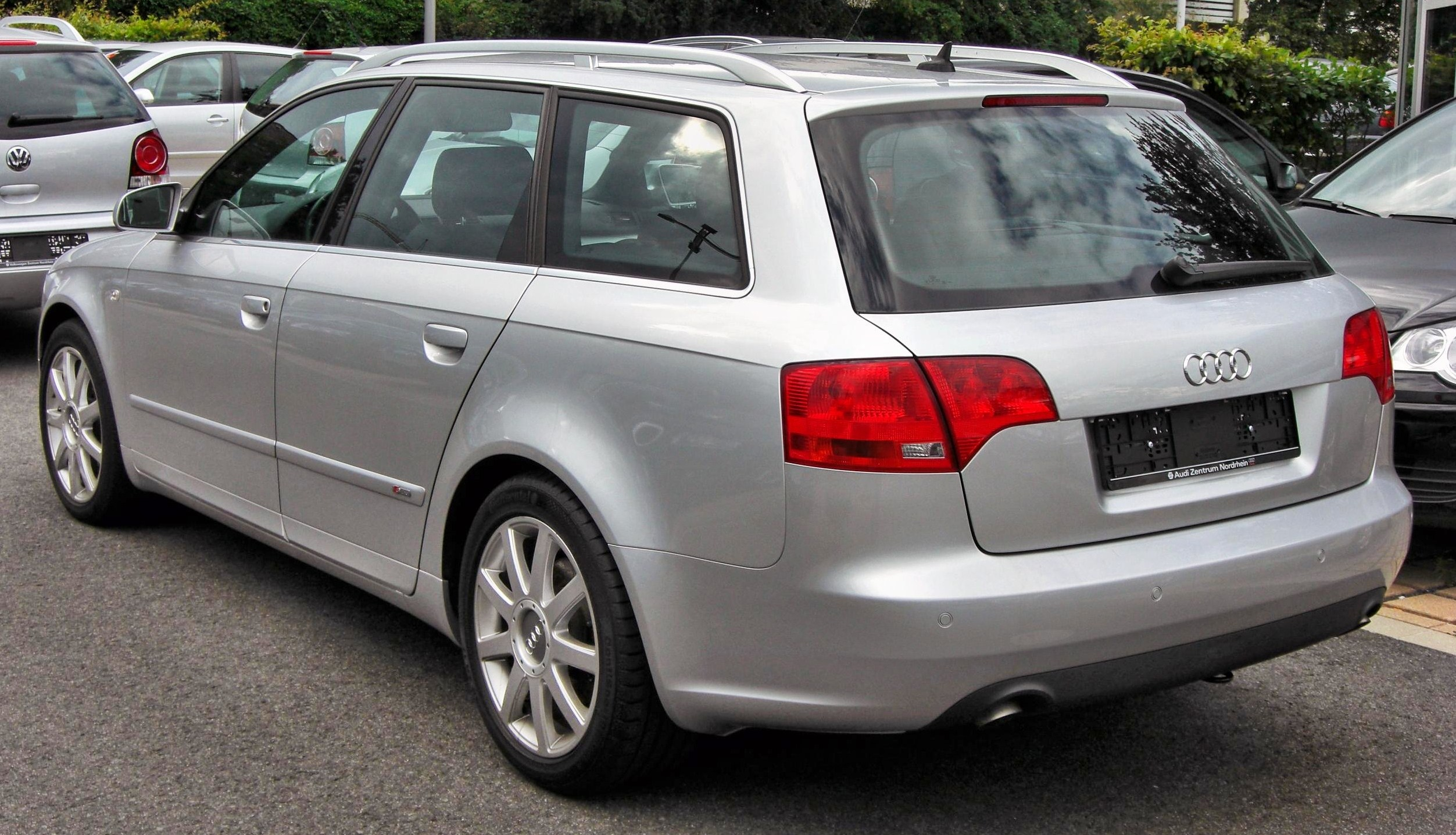 File Audi A4 B7 Avant 20090712 Rear Jpg Wikimedia Commons