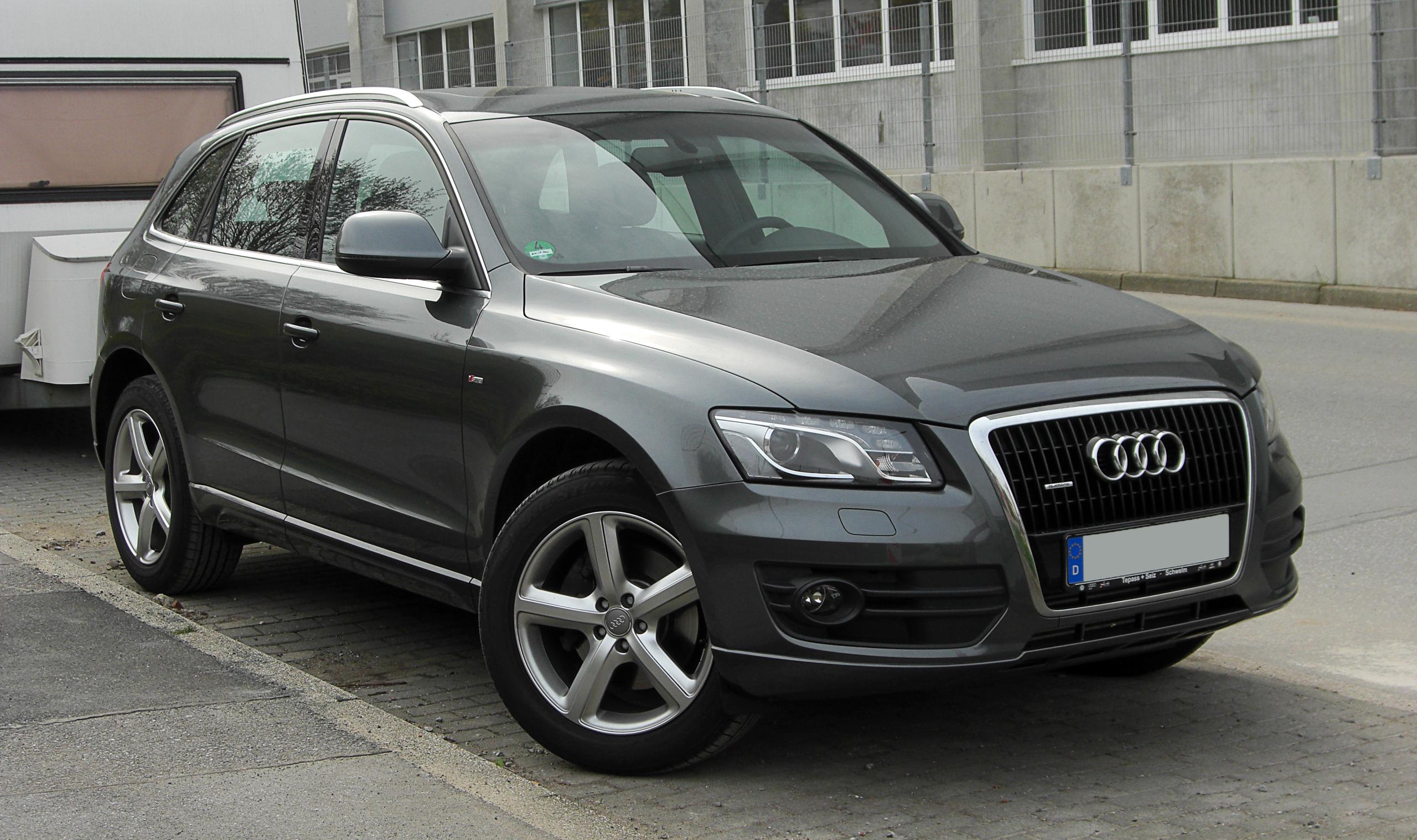 File:Audi Q5 quattro S-line – Frontansicht, 3. April 2011, Wülfrath ...