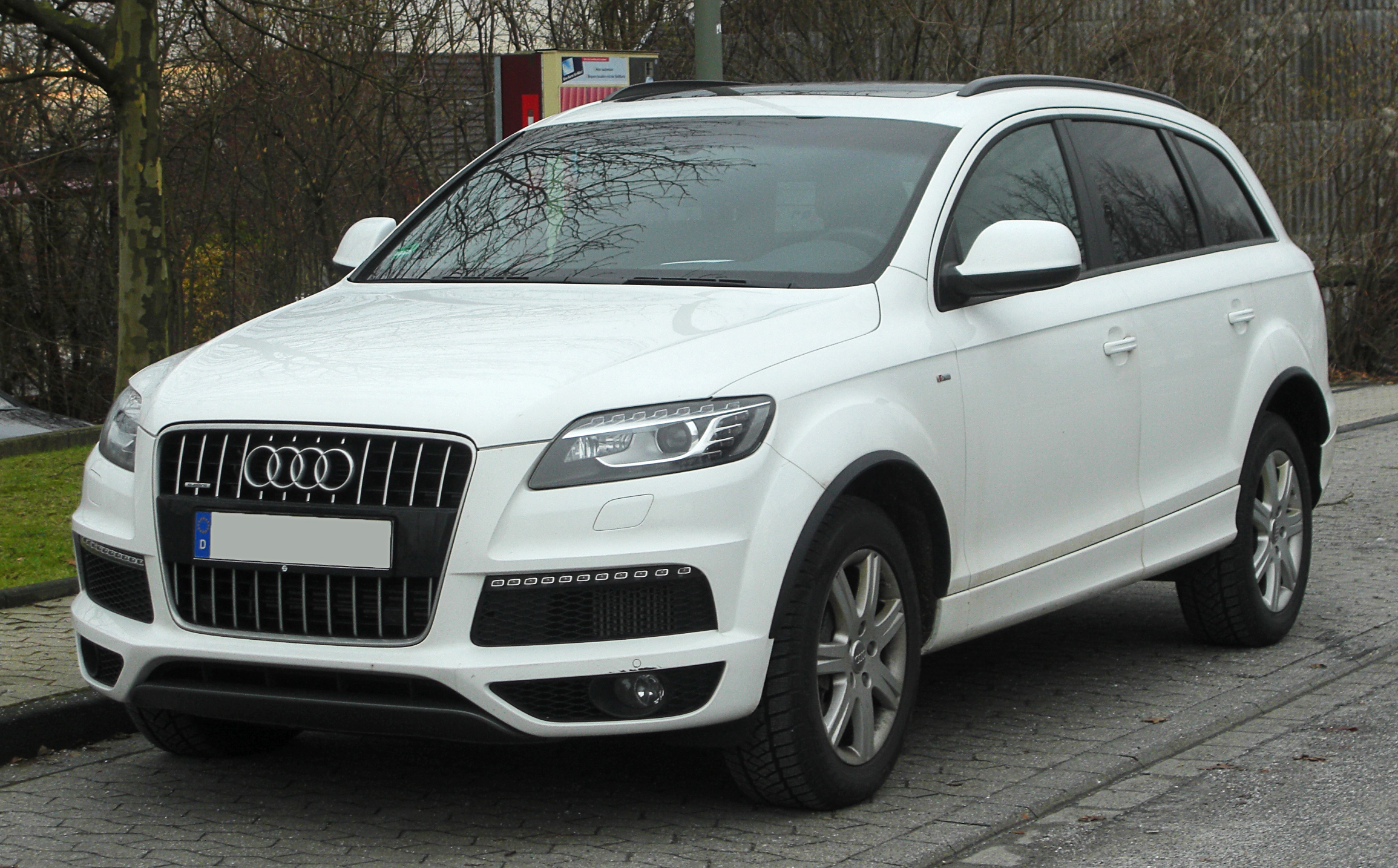 datei audi q7 facelift front wikipedia. Black Bedroom Furniture Sets. Home Design Ideas