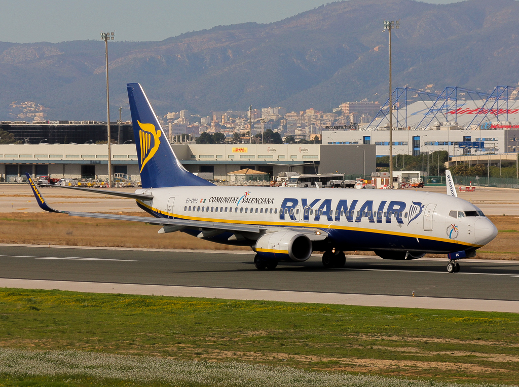 Depiction of Ryanair