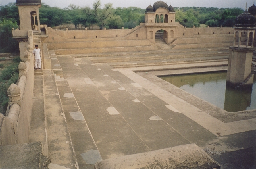 waterbody reached by steps