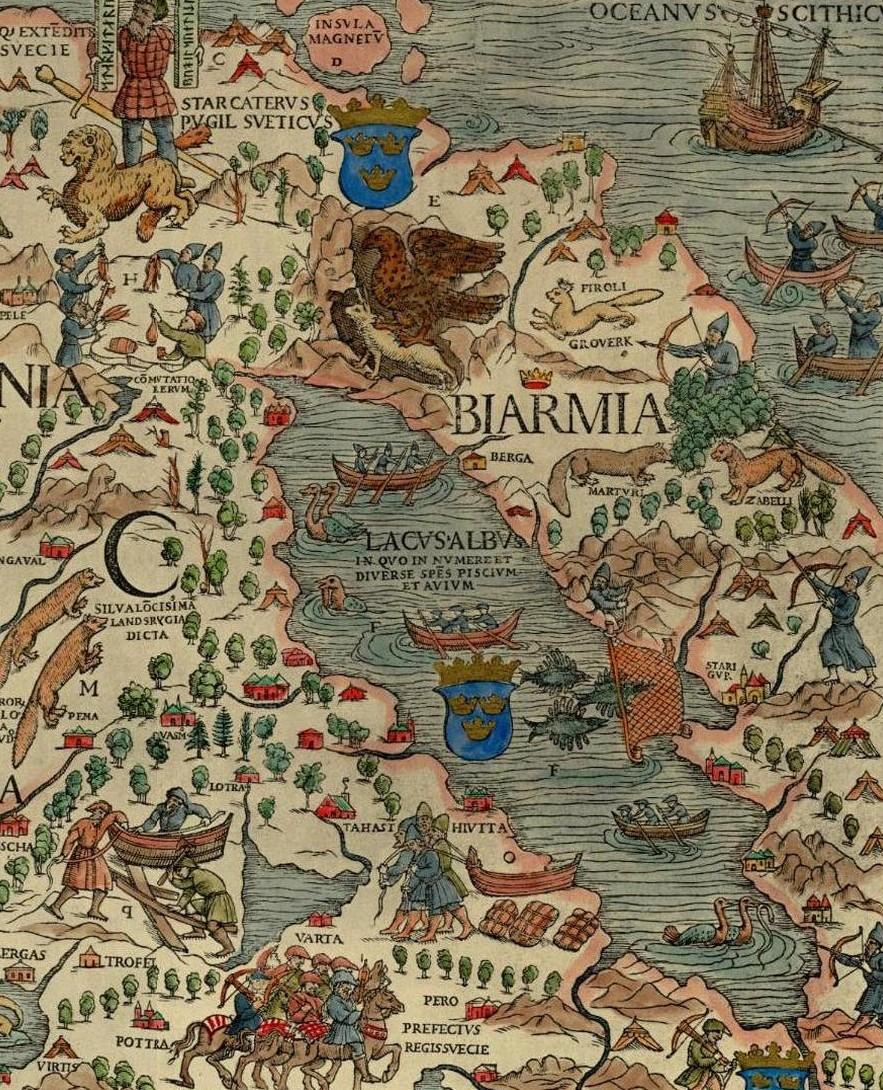 Bjarmaland Wikipedia - Russian vikings