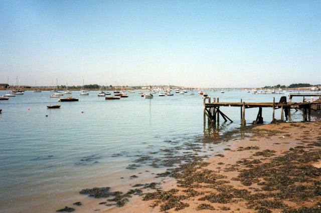 Blackwater Estuary from Maldon, Essex - geograph.org.uk - 675018