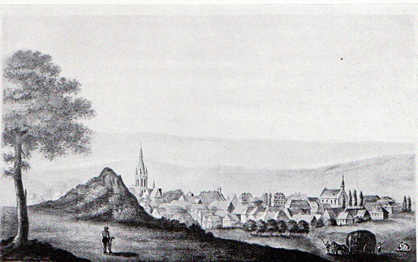 Brilon, Stadtansicht von 1780 nach einer alten Lithographie.jpg