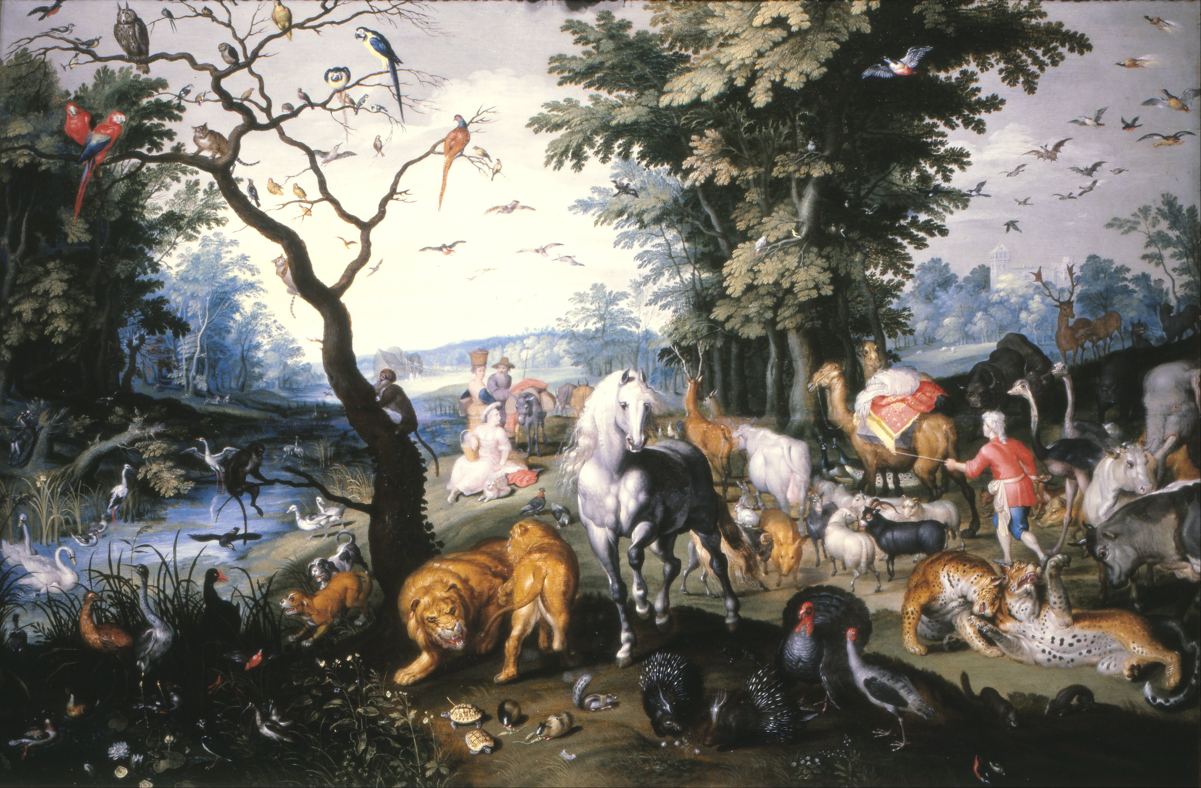 file brueghel jan the younger the animals entering noah s ark