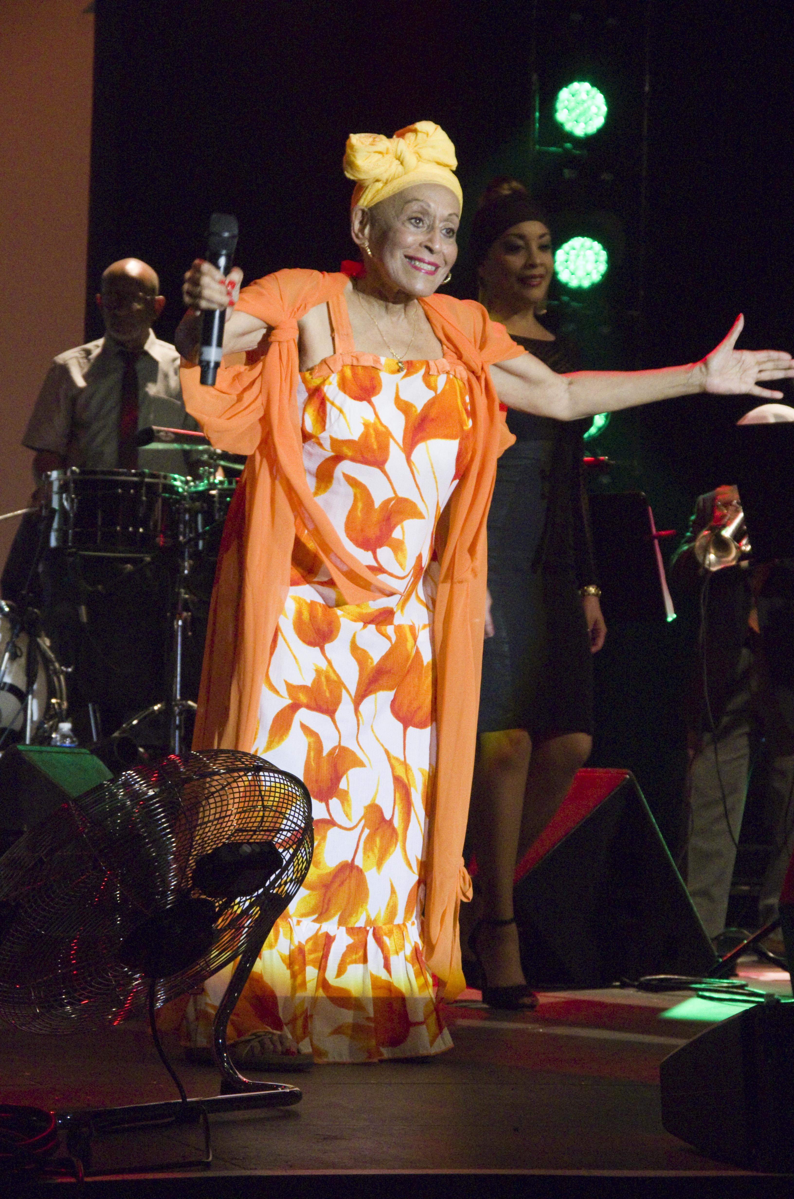 Omara Portuondo in 2015.