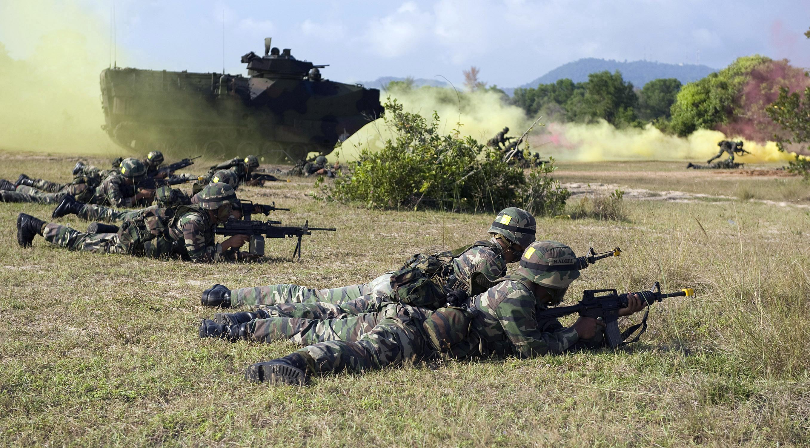 Royal Nepal Army Malaysian Army 9th Royal