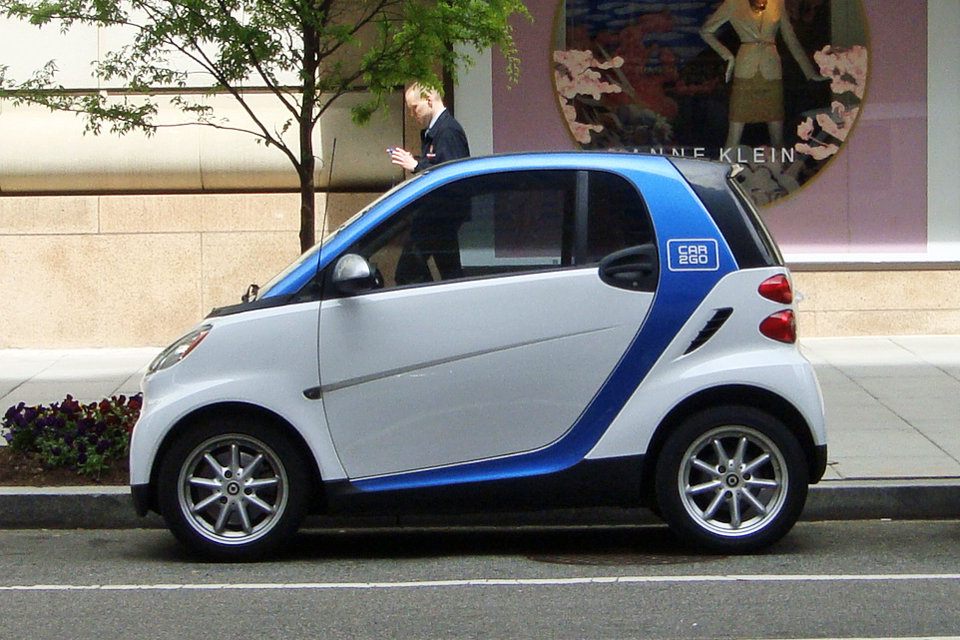 Car2go Carsharing Smart Fortwo 2nd Generation