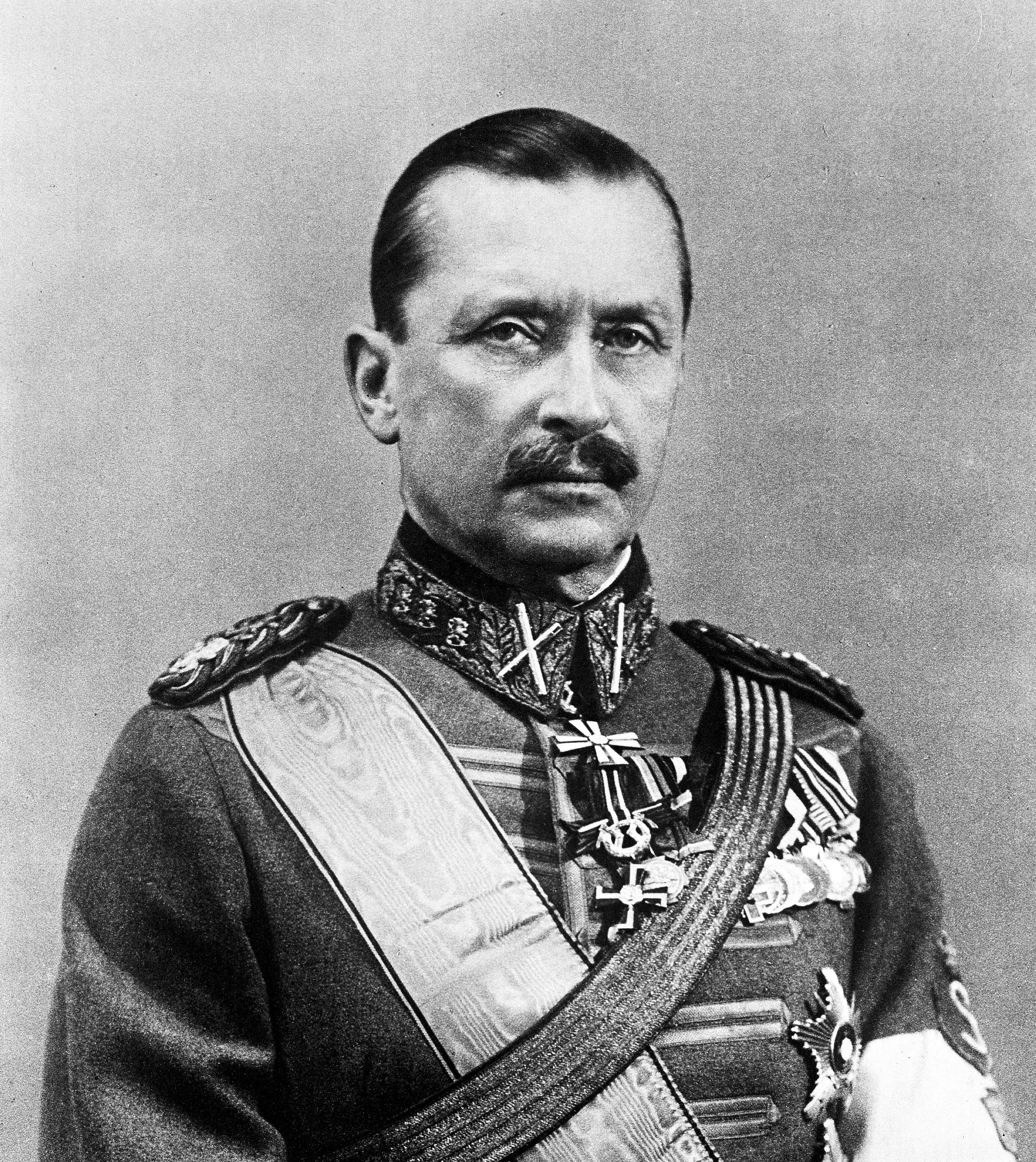 Depiction of Carl Gustaf Emil Mannerheim