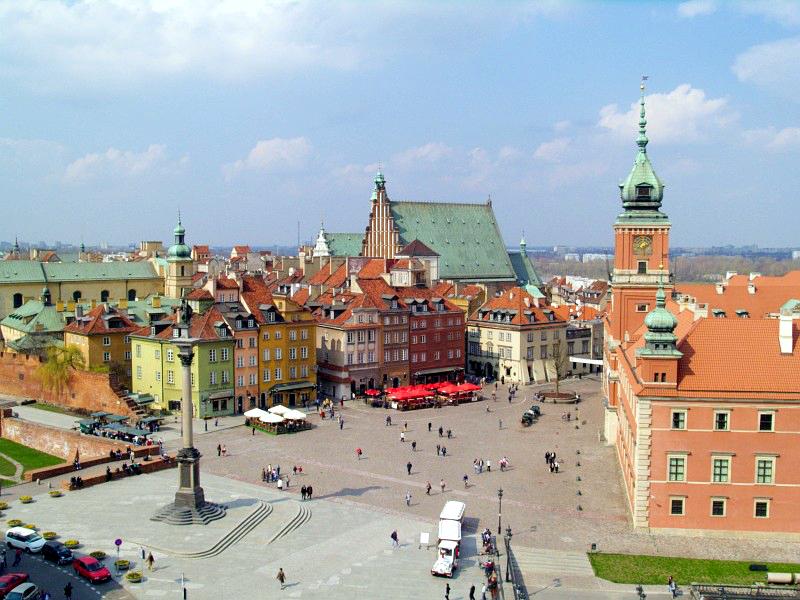 Warschau altstadt