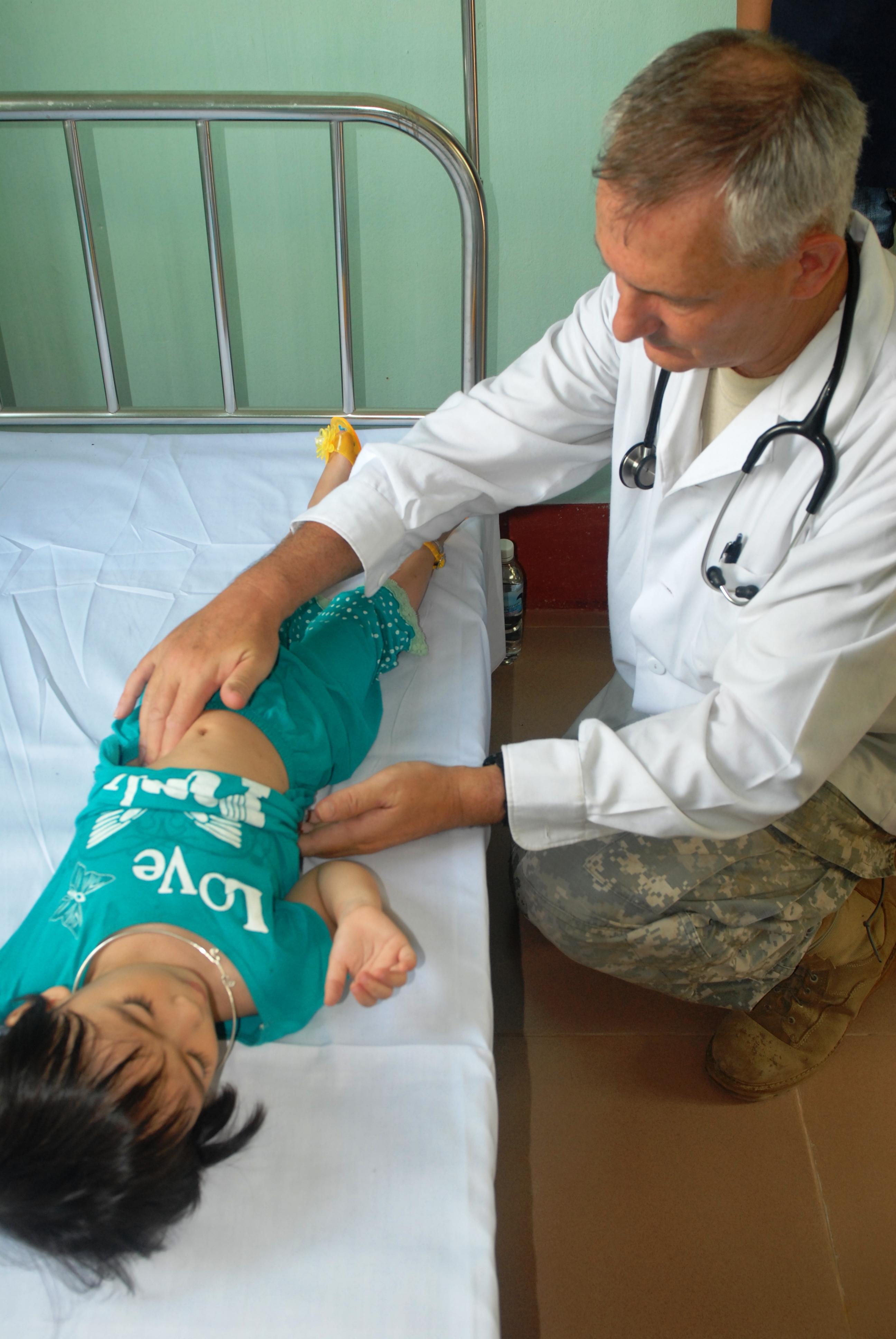 child vaginal examination