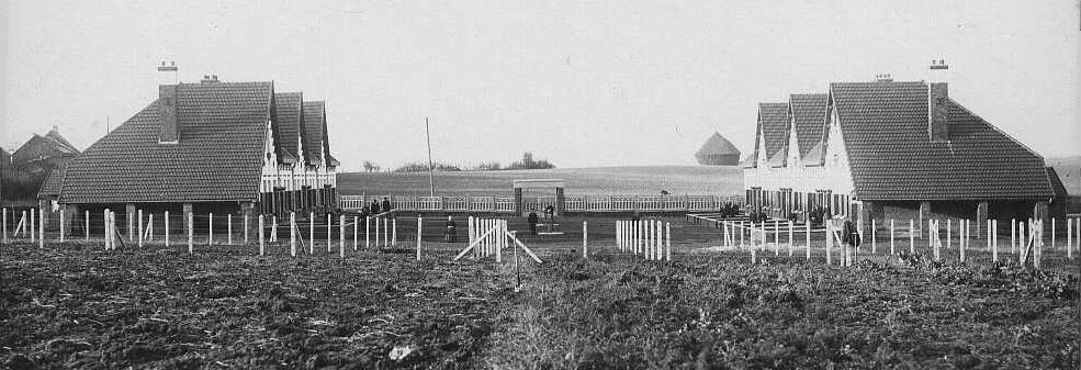 Cité-jardin de Maretz en 1931 - offerte par Eugène Lefebvre