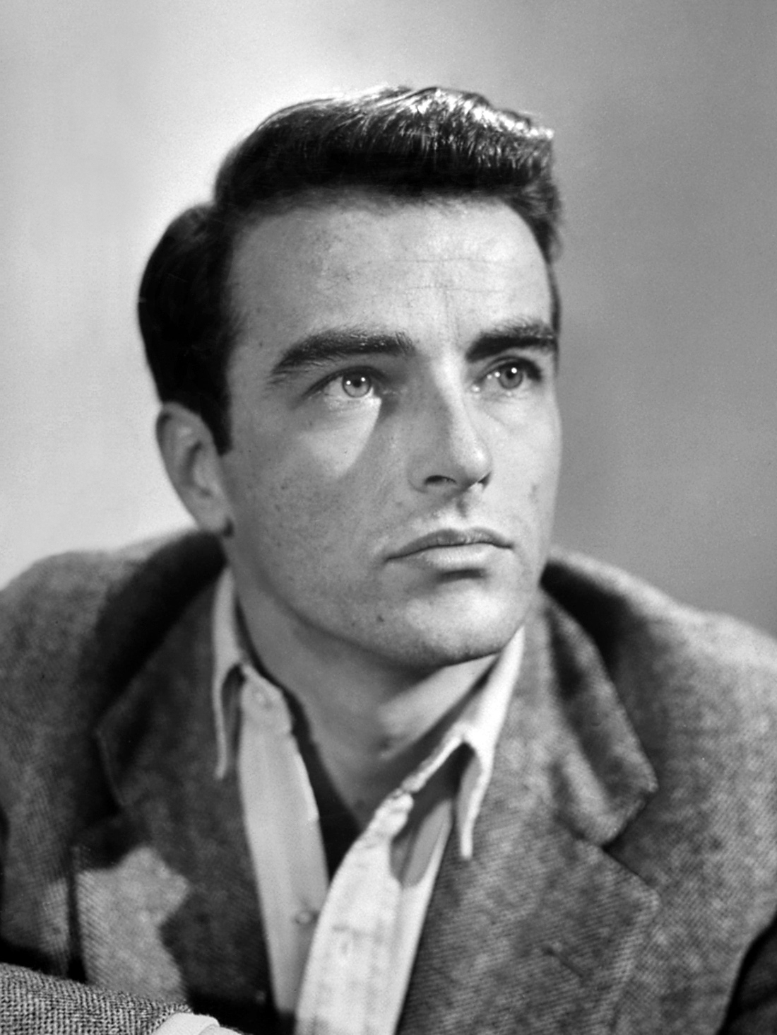 Montgomery Clift couple