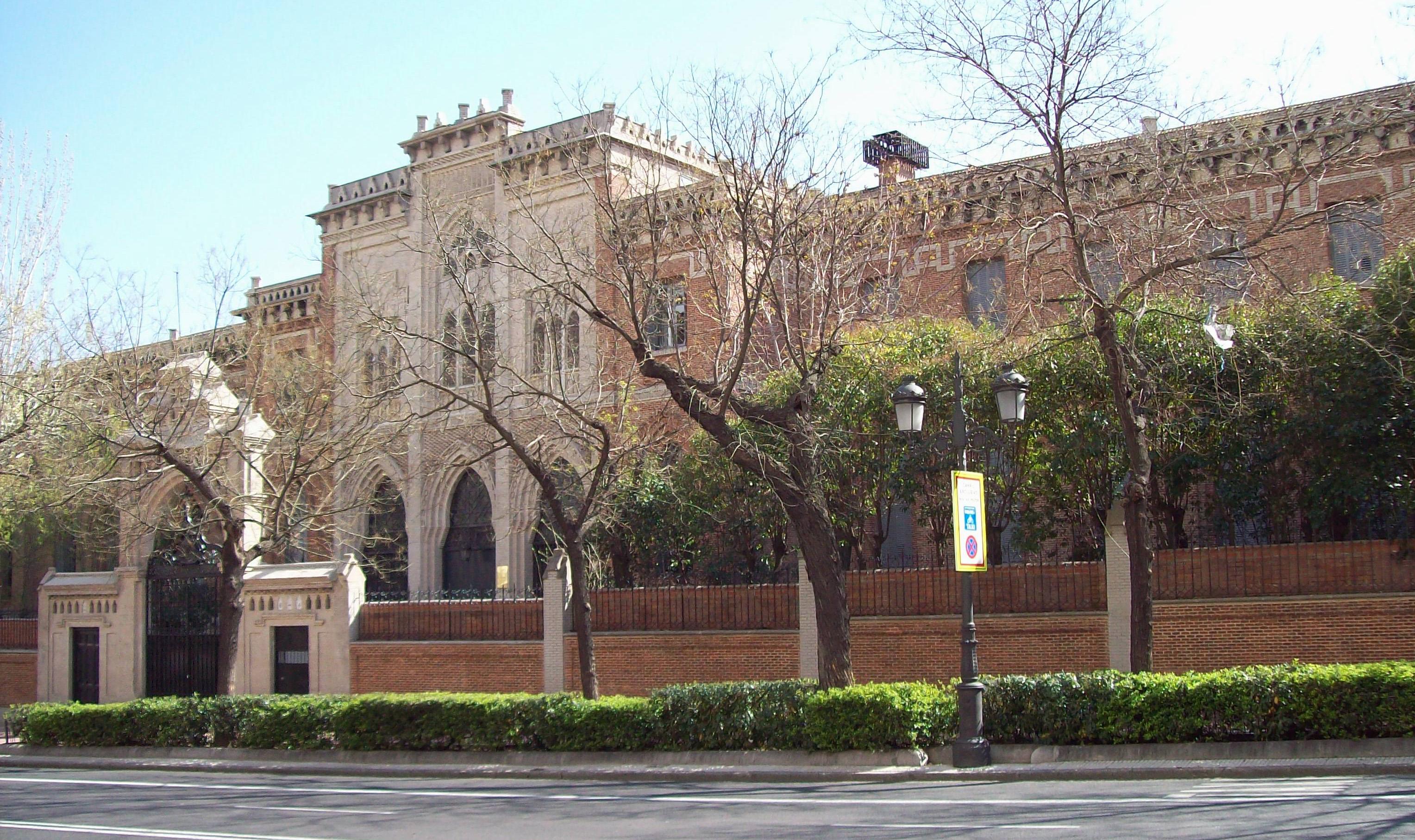 File colegio de san diego y san nicol s madrid - Colegio escolapias madrid ...