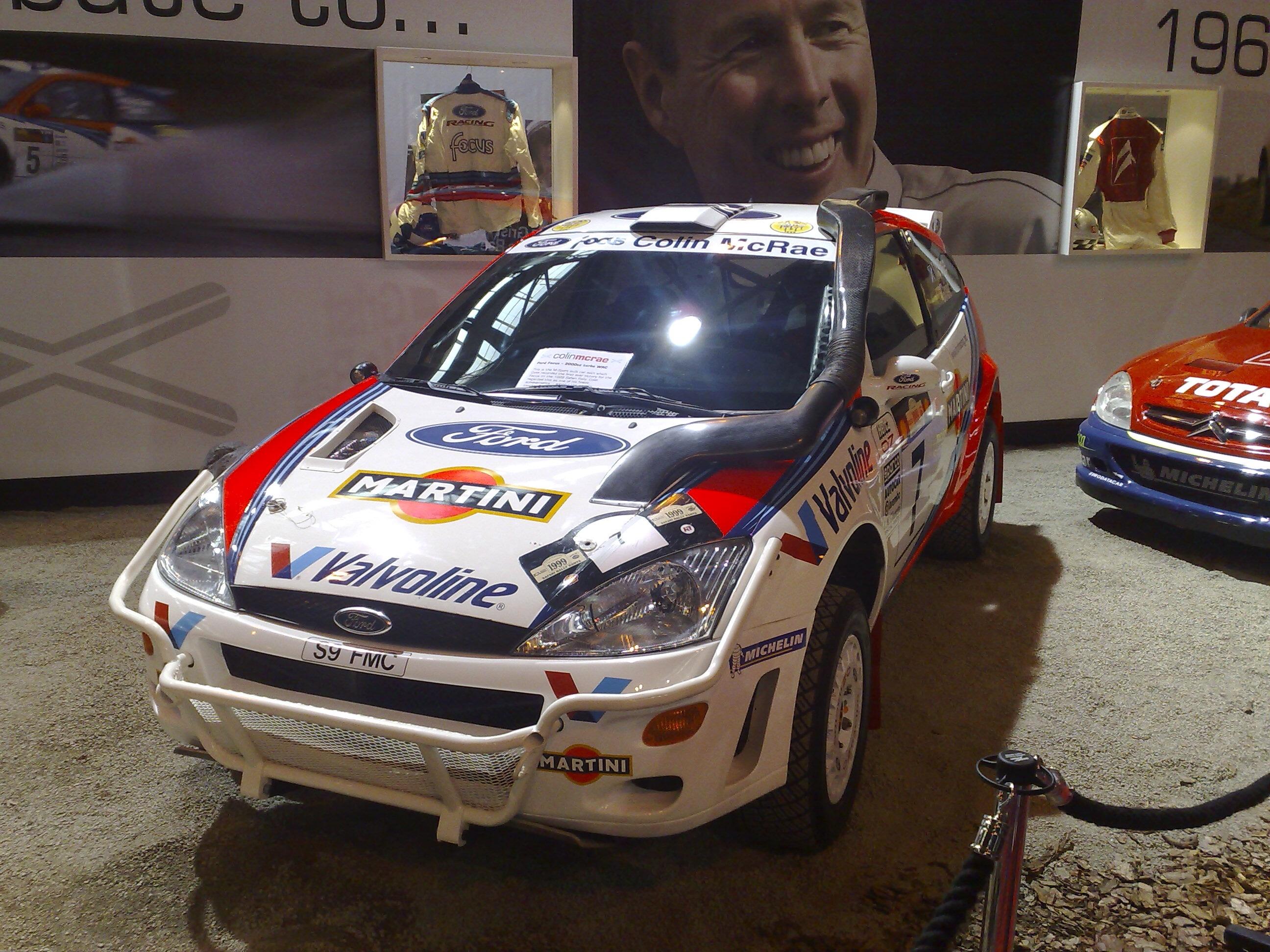 File:Colin McRae's Martini sponsored Ford Focus WRC ...