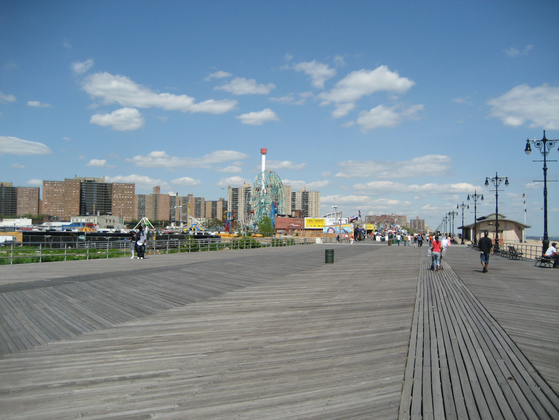 Coney Island Boardwalk K