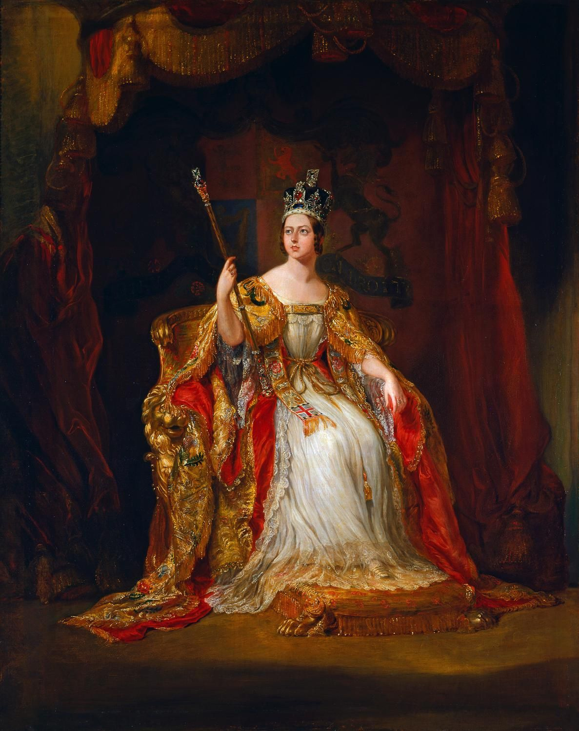 The alexandrina victoria on the british throne throughout the history of england