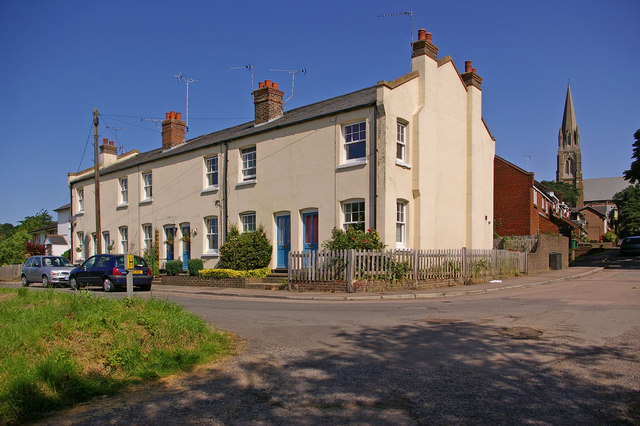 Cottages, St Johns - geograph.org.uk - 1124071