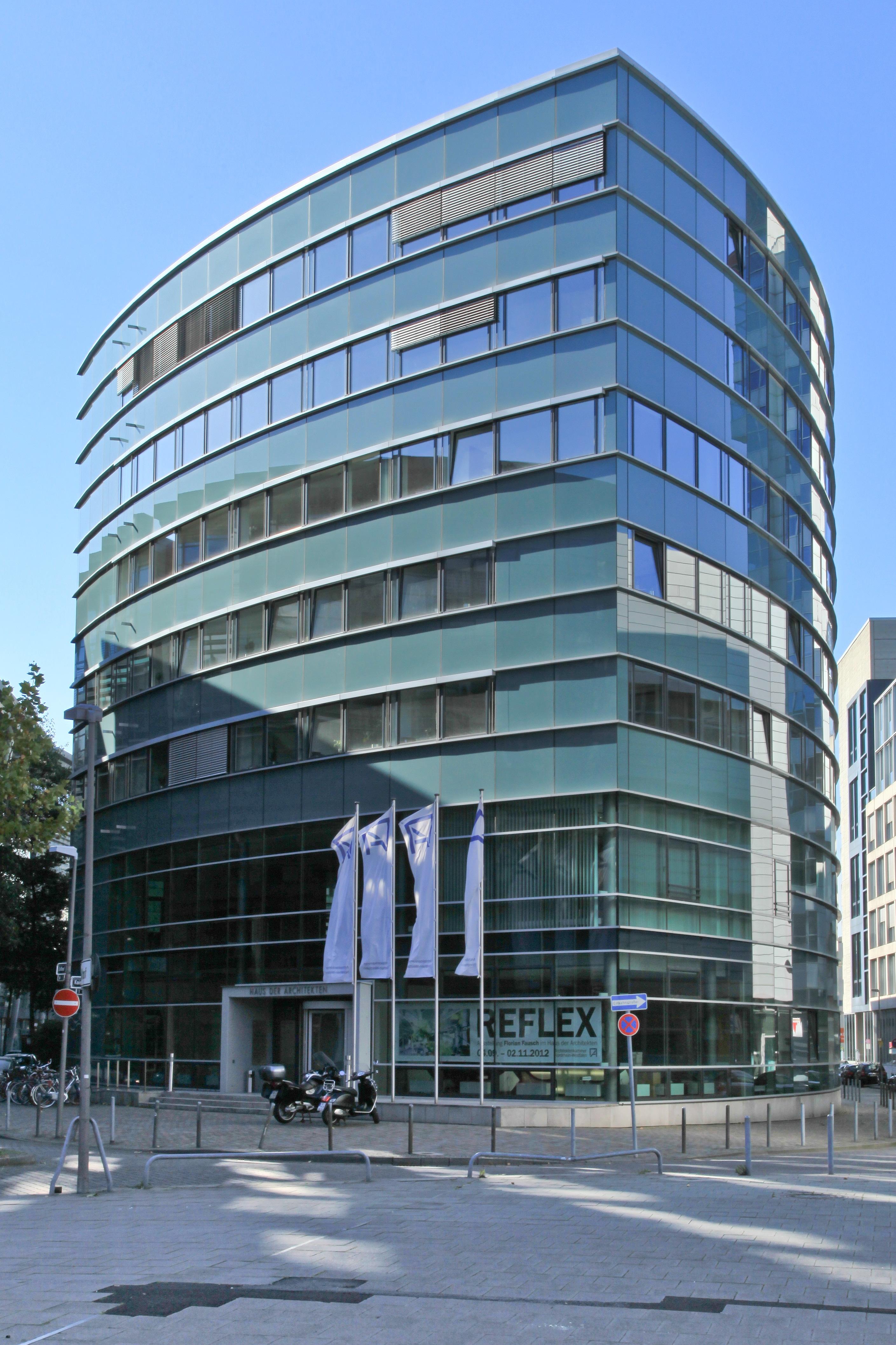 Architektenkammer Düsseldorf file düsseldorf zollhof1 haus der architekten 02 ies jpg