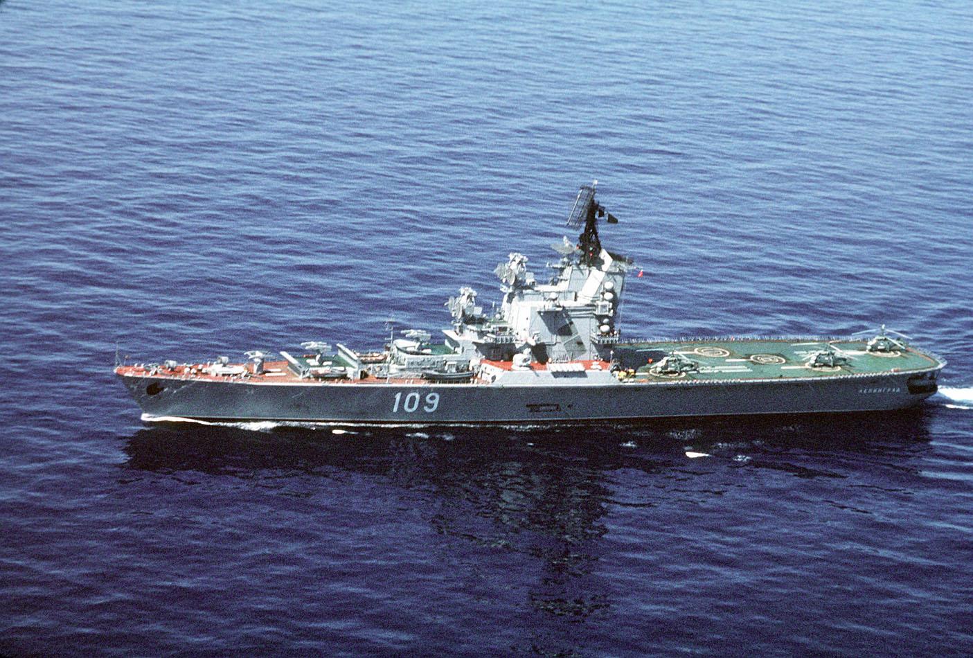 キーロフ級ミサイル巡洋艦の画像 p1_25