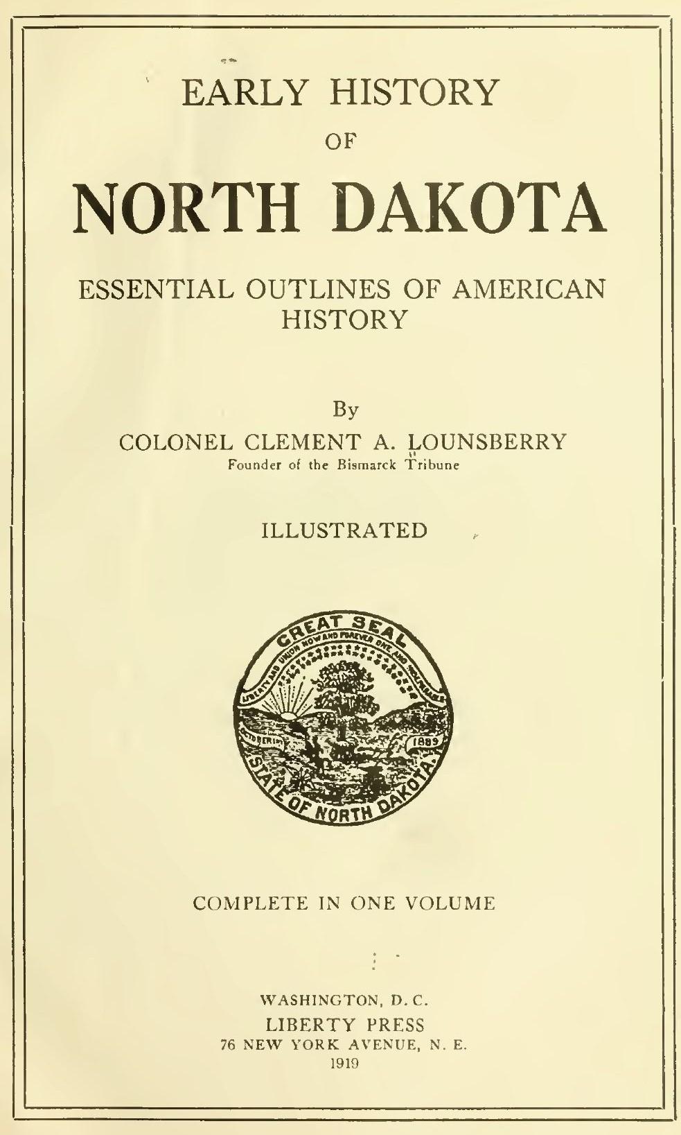 Bibliography of North Dakota history - Wikipedia