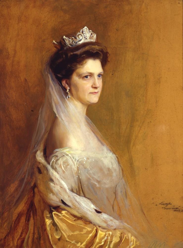 Eleonore Großherzogin von Hessen und bei Rhein (geb. Solms-Hohensolms-Lich) 1871-1937