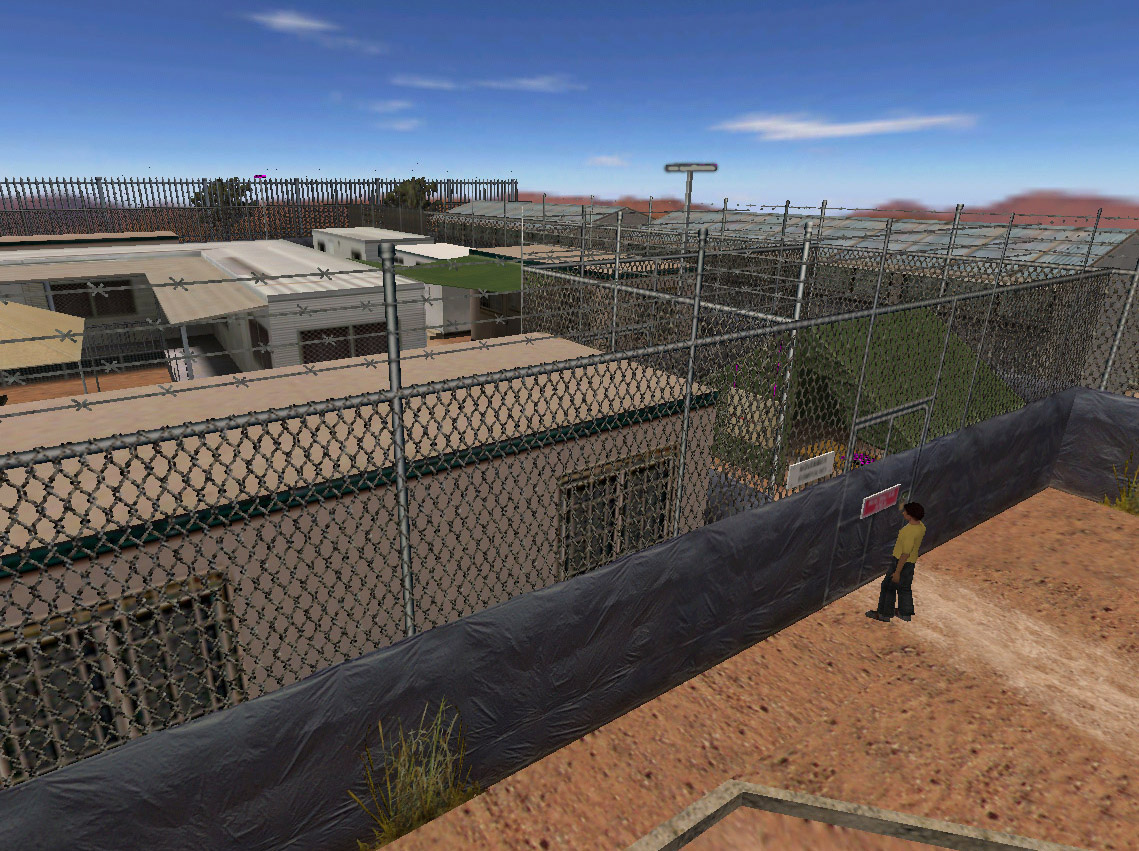escape from woomera game