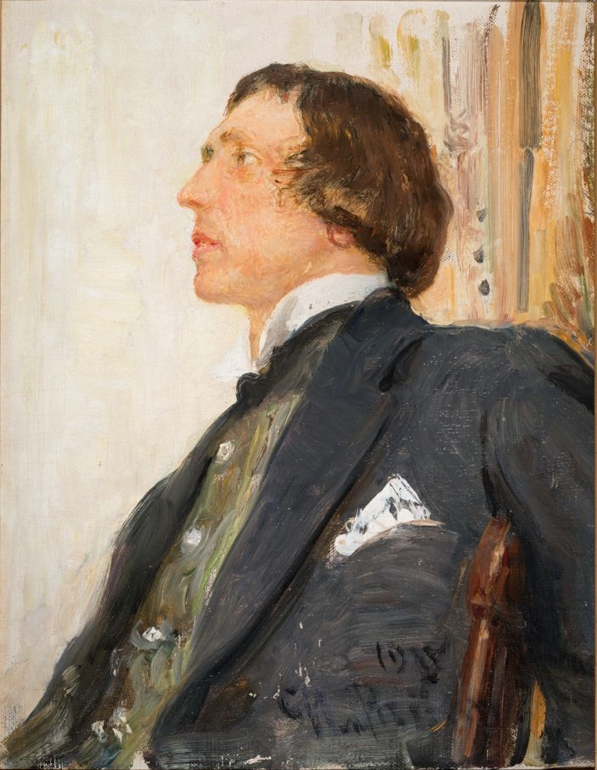 Николай Николаевич Евреинов (портрет работы Репина)