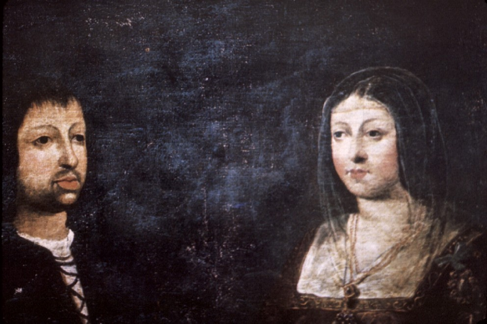 Ferdinand and Isabella marry