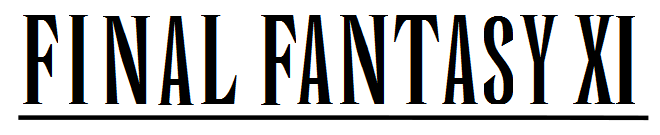 Fil:Final Fantasy XI wordmark.png