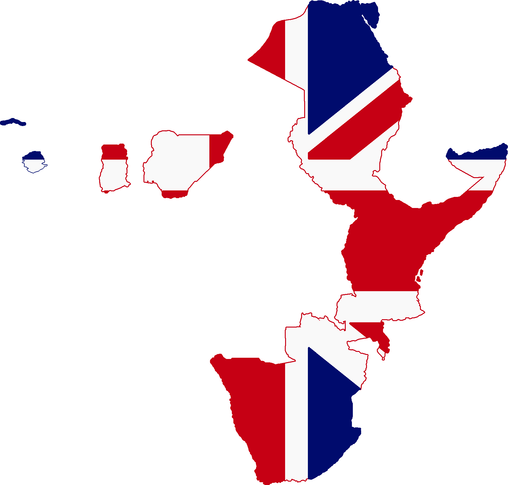 Flag Map Of Africa.File Flag Map Of British Africa 1913 Png Wikimedia Commons