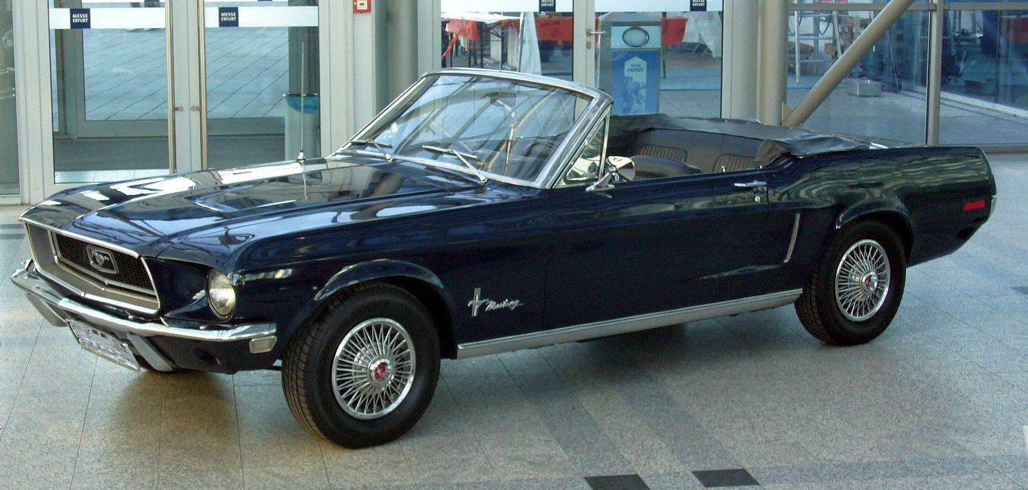 file ford mustang 302 cabriolet 1968 jpg wikimedia commons. Black Bedroom Furniture Sets. Home Design Ideas