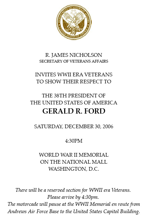 File:Ford WWII Memorial Invitation 2006.jpg - Wikimedia Commons