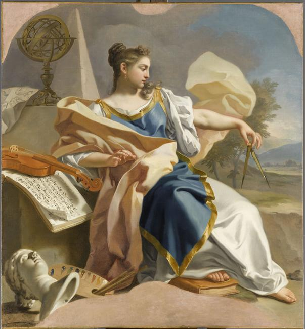 Francesco de Mura: Allegory of Arts
