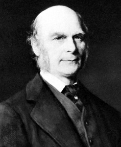 Francis Galton laid the foundations of behavio...