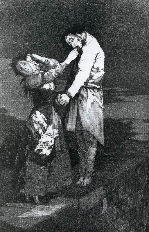 goya and research analysis on his works In this ominous image, we see the dark vision of humanity that characterizes goya's work for the rest of his life a man sleeps, apparently peacefully art historical analysis (painting), a basic introduction using goya's third of may, 1808 goya, third of may, 1808.